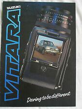 Suzuki Vitara brochure Dec 1988