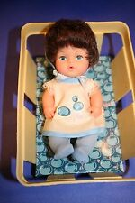 "Goldberger Berry Bunch Baby Doll 6"" 1979 Vtg Basket BLUEBERRY Vinyl Eegee"