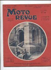 Moto Revue N°625  ; 2 mars 1935 : les modéles Magnat Debon 1935