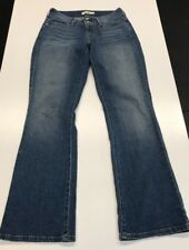 Levi's 529 Curvy Boot Jeans Womens 6 M Actual: 32 x 33 Button Flap Back Pocket.
