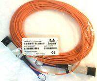 NEW Mellanox MC2206310-015 15 Meter 40GB 40 Gb QSFP to QSFP AOC Fiber Cable