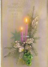 Glückwunschkarte zum Weihnachtsfest und zum Neuen Jahr Motiv 16