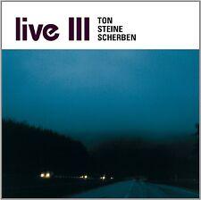 TON STEINE SCHERBEN - LIVE III  CD NEU