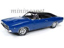 AUTOWORLD AWSS111 CHRISTINE 1968 68 DODGE CHARGER 1/18 DIECAST MODEL CAR BLUE