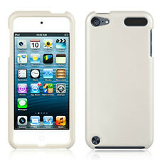 White Snap-On Hard Case Cover for iPod Touch 5