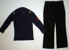 Russische UdSSR Uniform Marine Hemd Kriegsmarine Wolle Anzug shirt Hosen Rare