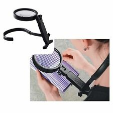 Magnifying Glass Sturdy rotary acrylic len 2x and 8x magnification