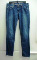 J. Crew Womens Denim Jeans Matchstick Dark Wash Skinny Sz. 27 Regular