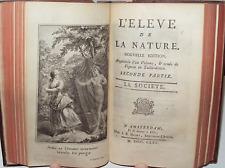 Guillard de Beaurieu : L'Elève de la Nature, critique de la société - Lille 1771