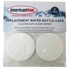 New listing American Maid Replacement Water Bottle Caps 2 Pack 53 mm Bpa Free New