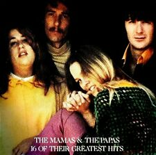 """""""The Mamas & The Papas"""" - """"16 Of Their Greatest Hits"""" - MCA Records (Japan)"""