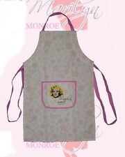 MARILYN MONROE Hollywood Star Legend UNISEX KITCHEN WORK APRON Pink White OS New