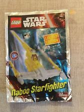LEGO Star Wars: MINI Naboo Starfighter Polybag Set 911609 bnsip ideale per Natale
