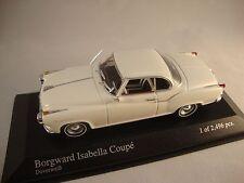 Minichamps 400096020 BORGWARD ISABELLA COUPE 1959 WHITE  1:43 suberb detail