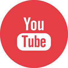 Social Media Icons - Individual (Circular) - YouTube