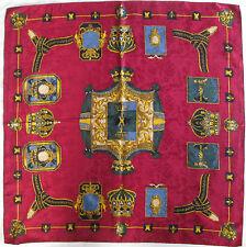 -Superbe Foulard 100% soie  TBEG  vintage scarf
