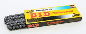 D.I.D DID Black 420 NZ3 x 120 Links Super Non O-Ring Chain Chain 420NZ3-120