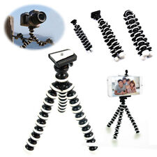 Flexible Tripod+Phone Clip Octopus Bracket Holder Mount for Cell Phone Camera US