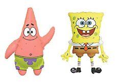 Anagram 1x Spongebob Squarepants & 1x Patrick Supershape Jumbo Foil Balloon