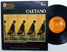 "CAETANO 10"" Nova Historia Da Musica Popular LP Brazil 1971 press  Aa92"