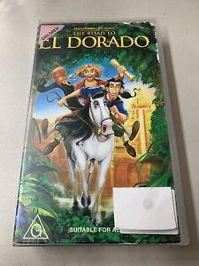 The Road to El Dorado - VHS Original Tape