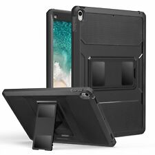 "For iPad Pro 12.9"" 2018 Case Hybrid Heavy Duty Shockproof Black Cover Kickstand"