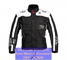 MOTO ONE ERZBERG ACT D6 Nero-Bianco GIACCA MOTO ENDURO MX OFF ROAD - M1 MJ 300