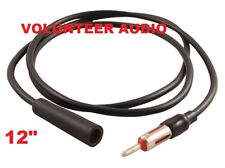 "Scosche AXT12 12"" Am Fm Antenna Extension Cable"