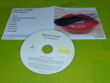 NICOLAS GODIN - AIR - CONTREPOINT !!!!!!!!  RARE CD PROMO !!!FRANCE!!