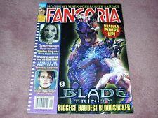 FANGORIA # 239, Blade Trinity, Dark Shadows, Stephen King, Free shipping USA