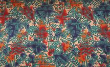 Disney Polynesian Resort Hawaiian Fabric Print By the Yard