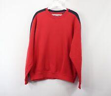 Callaway Golf Mens Medium Long Sleve Casual Golfing Golf Crewneck Sweater Red