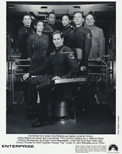 Cast ENTERPRISE 8x10 Found Photo SCOTT BAKULA bw Free Shipping DR. PHLOX 71114
