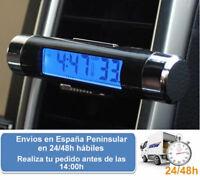 Termometro reloj digital led para temperatura del coche (Envio express)