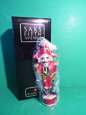 Christopher Radko Saks Fifth Avenue The Nutcracker Ornament Limited Edition