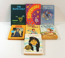 Collection of Childrens Books Hard Back Youth Fiction Weekly Reader Club