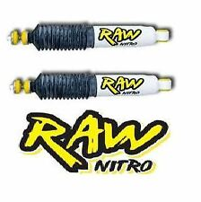 FORD COURIER 4X4 87-06 FRONT RAW NITRO SHOCK ABSORBERS