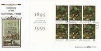 25 APRIL 1995 NATIONAL TRUST PANE BENHAM BLCS 104c FIRST DAY COVER BODIAM SHS