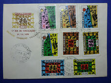 LOT 12163 TIMBRES STAMP ENVELOPPE REVOLUTION MOZAMBIQUE MOCAMBICO ANNEE 1975