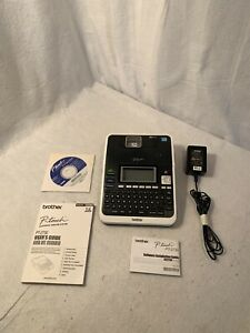 Brother P-Touch PT-2730 Label Thermal Printer With AC Adapter TESTED WORKING