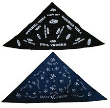 Kenny Chesny/ Phil Vassar 2002 vintage Country Music Concert Tour Bandanas New