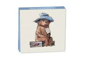 Paddington Bear Sitting On His Suitcase Mini Notecard Wallet
