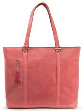 Mobile Edge Pink Faux-Suede Tote METXK4