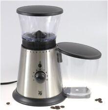WMF Kaffeemühle mit Scheibenmahlwerk in Edelstahl Stelio (Kaffeemühle)