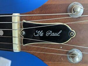 Gibson 1979 The Paul Walnut Electric Guitar Ebony fretboard Vintage Rare!