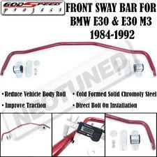Godspeed Anti-Sway Bar Kit, Chromoly, For BMW E30 3-Series 1984-92 M3 318i 325e