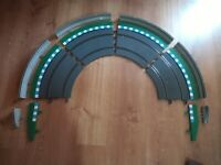 SCX SCALEXTRIC DIGITAL SYSTEM / WOS / ADVANCE / ORIGINAL 4xCURVE CURVA FENCES 8