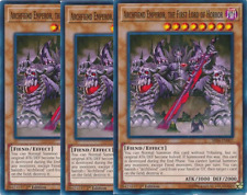 3X Archfiend Emperor, the First Lord of Horror -SR06-EN007- Lar of Darkness