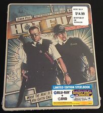 HOT FUZZ Blu-Ray SteelBook Ltd Ed. Simon Peg Nick Frost Comic OOP Sold Out Rare!