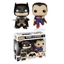 PACK 2 FIGURAS FUNKO POP BATMAN VS SUPERMAN  PACK EXCLUSIVO 48-72 HORAS